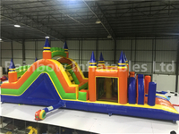 RB5075(10x3x4m) Inflatable Castle obstacle courses equipment