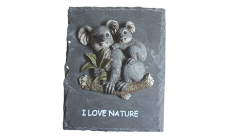 home decoration resin koala hanging stone crafts