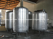 Stainless Steel Single Jacketed Water Reservoir Tank