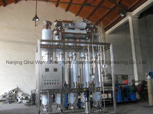 WFI Used Multi-effect Water Distilling Equipment