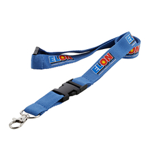 Custom badge holders lanyards with polyester material and print logo