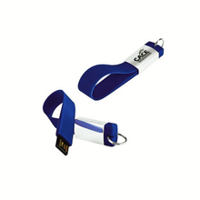 Silicone hand wrist strap string usb flash drive with keyring
