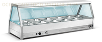 12 Pan Bain Marie Buffet Food Warmer HBX-12A