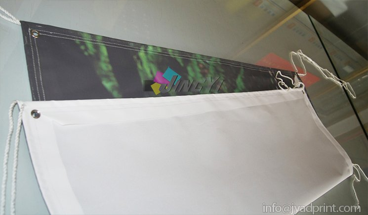 Custom Canvas Fabric Banner, Outdoor Cotton Canvas Fabric