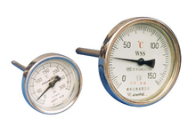 LX-014 Industrial Bimetal Thermometers with Back Connection
