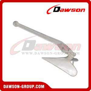Hot Dip Galvanized Casted Plough Anchor, Plow Anchor