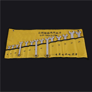 Hand Tools 14 Pieces High Quality Spanner/Wrench