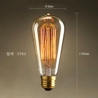 Energy Saving Vintage Retro Style Edison LED Filament Bulbs