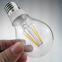 E27 LED Retro Filament Candle Lamp Bulb Vintage Edison Style