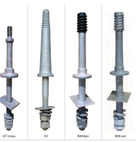 Galvanized Steel Spindles for Pin - Type Insulators