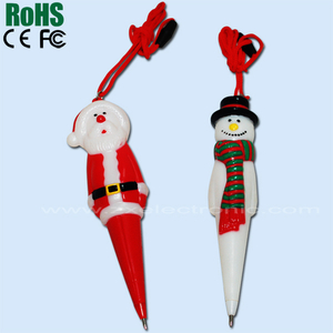 Lovely Christmas Promotion Gift Pen Drive Music Player