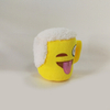 Stuffed Cute Plush Cup Toys Soft Mini Emoji Plush Cup