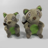 New Plush Raccoon Sound Chew Squeaker Dog Toy