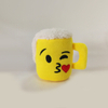 Creative Design Cute Yellow Cup Shape Stuffed Plush Toy