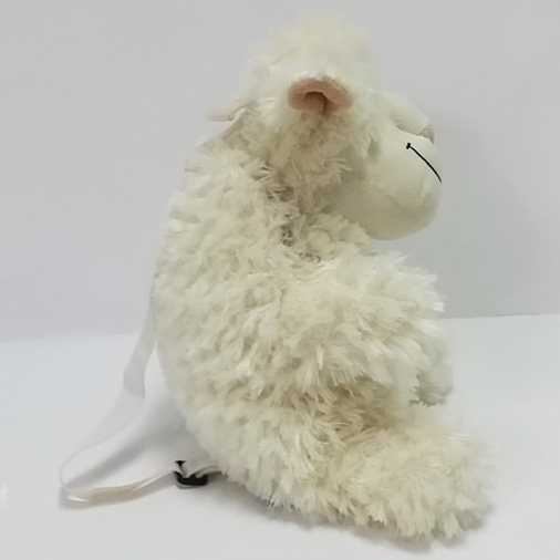 Plush Soft Toy Goat School Backpack for Kids
