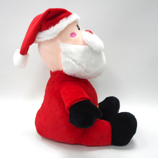Lovely Christmas Santa Clause Plush Cartoon Toys with Hat