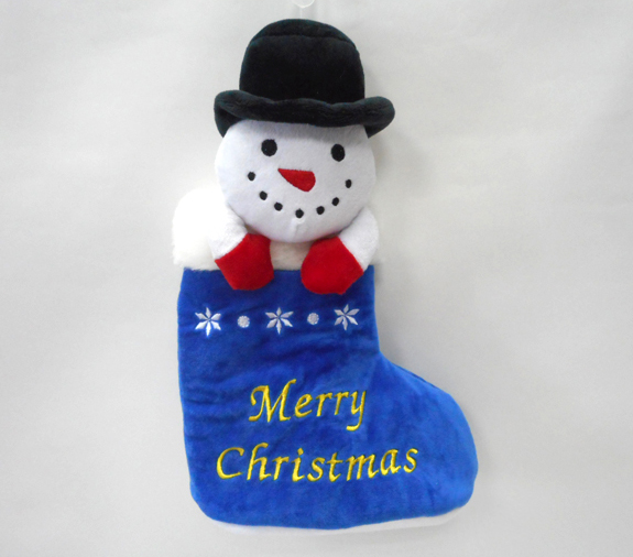 Snowman Christmas Stocking for Decorative Christmas Socks