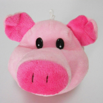 Cute Soft Plush Pig Shaped Coin Purse for Kids