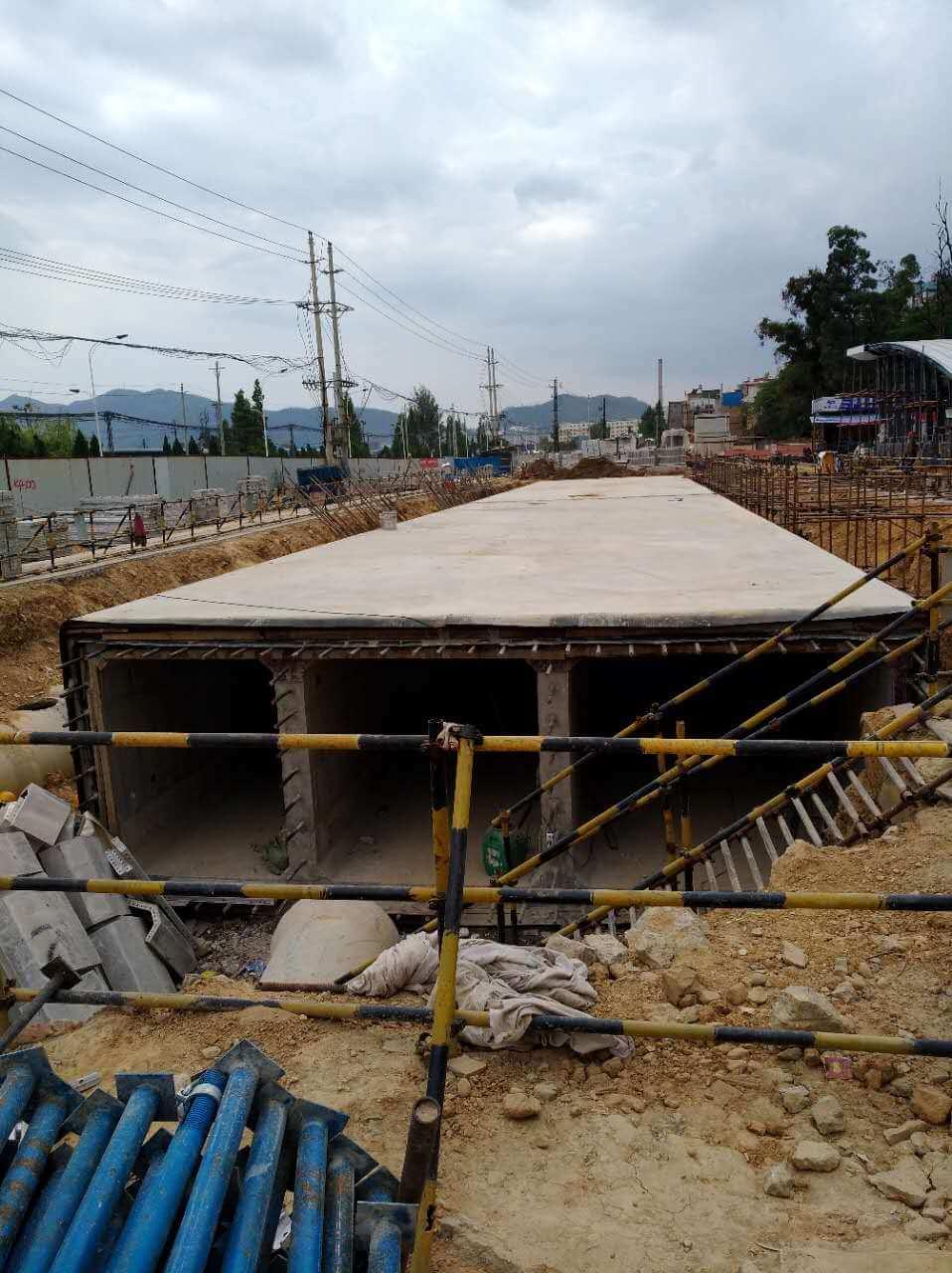 alu-formwork for utility tunnel (12)