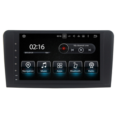 "9""Anti-Glare Mercedes Benz ML /GL Carplay Android Car Stereos"