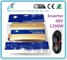 High quality 48Vdc to 220Vac Automotive Power Modified Sine Wave Inverter 1200w renewable power source