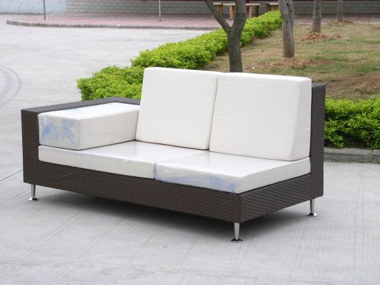 2016 New Style Garden Patio Wicker / Rattan Sofa Furniture Set - Outdoor Furniture (GS146A)