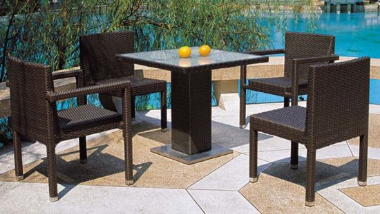 PE Rattan Chairs and Table Wholesale