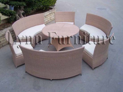 Garden Chair and Table Set (LN-008)