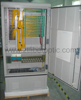 FTTH Jumper Free Telecommunication SMC Connection Cabinet