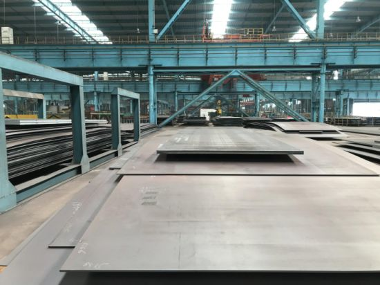 High Strength Atmospheric Corrosion Resistant Steel Plates