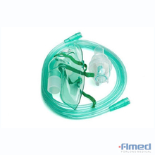 Disposable Nebulizer Mask With Tubing - Adult & Pediatric Sizes