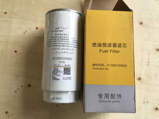 LG958L Wheel Loader Spare Parts 4110001593002 Water and Separater Filter