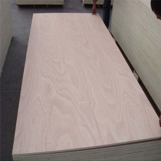 Top Grade Commercial Plywood with Gabon Okoume Veneer for Furniture