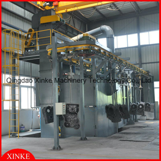 Recycle Chain type Automatic Shot Blasting Machine