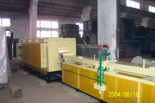 mesh belt hardening and tempering furnace