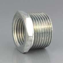 Zinc Threaded Nipple Bushed Nipple