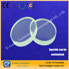 Quartz glass sheet High transparent optical sheet Ultraviolet quartz chip substrate High temperature lens processing Customizati