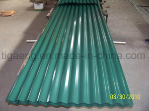 Low Price Corrugated Colorful PPGI/PPGL Steel Roofing Plate