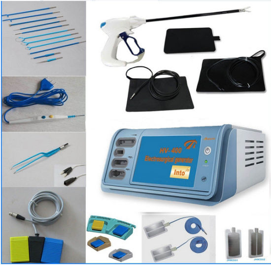 Hv-400 China Top Quality Diathermy Electrosurgical Electrocautery Unit