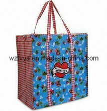 Shopping Bags Glossy Laminated with Zipper (LYSP12)