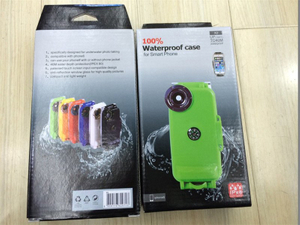 Professional 40 Meter Underwater Diving Waterproof Mobile Phone Case Cover for iPhone 5/6/6plus