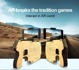 New Bluetooth Ar-Gun 3D Shooting Games The Guardian for iPhone Samsung Smart Phones