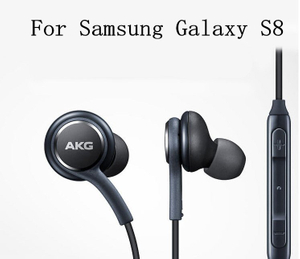 Earphone for Samsung S8 Plus with Microphone Stereo Earbuds