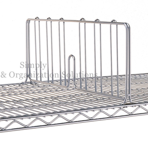 wire shelving accessory- shelf divider