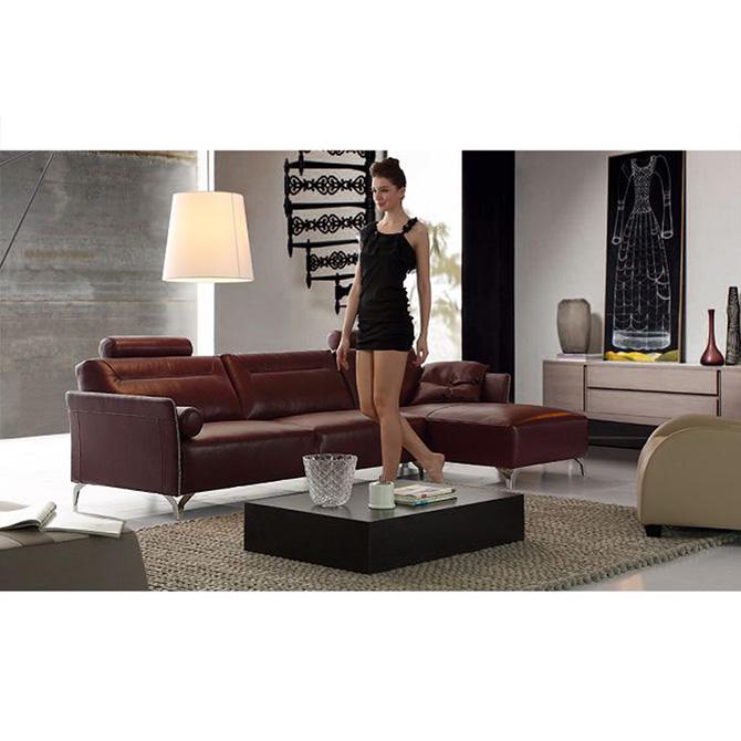 European Style Italy Leather Sofa Modern