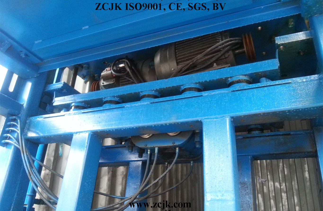 Bhutan ZCJK 4-20A Brick making machine (1)