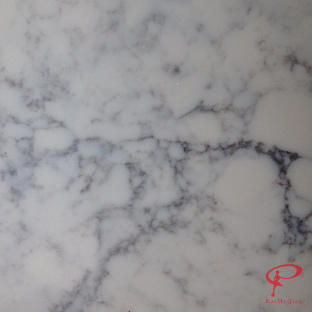 Awesome Carrara Black And Coffee Veined Quartz Stone For Countertops Table Tops Bar  Tops X308