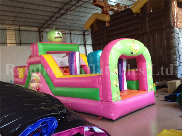 rb5033 inflatable rainbow funny obstacle course for sale from china manufacturer. Black Bedroom Furniture Sets. Home Design Ideas