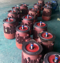 Conical Rotor Electric Motor for Hoist