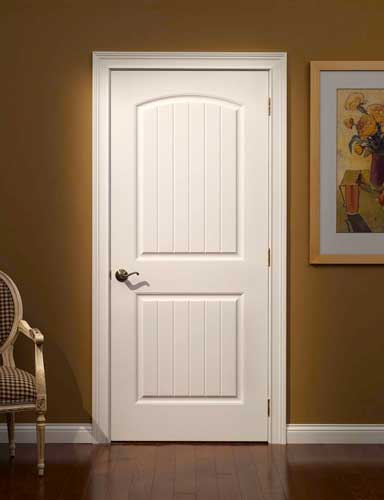 French Style White Paint Wooden Interior Doors - Interior doors
